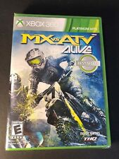 MX vs. ATV Alive (XBOX 360) NEW