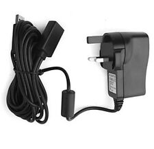 UK Plug Power Supply Adapter Cable for Xbox 360 Kinect Sensor Console