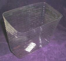 Longaberger Whistle Stop Basket Plastic Protector Only 2000 Collector Club New
