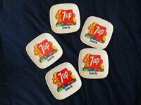 🔴 Raro portacenere in bachelite 7 Up design John Alcorn anni 70 Pop Art No Coke