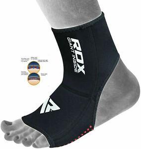 RDX Chevillère Pied MMA Néoprène Soutien Cheville Fitness Bandage Boxe Ankle FR