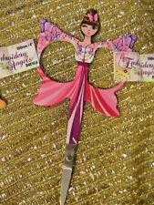 "PINK CRAFT~EMBROIDERY FAIRY~ANGEL SCISSORS 4"" (100mm) sharp-travel~crochet~knit"