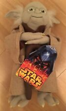"""Star Wars Yoda Jedi Master Exclusive Clintons 10"""" Cuddly Toy Figure New With Tag"""
