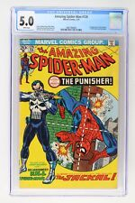 Amazing Spider-Man #129 - Marvel 1974 CGC 5.0 1st Appearances of The Punisher!