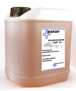 Biskor Korrosionsschutzöl semi 5 L Sprühöl Rostschutzöl Kriechöl