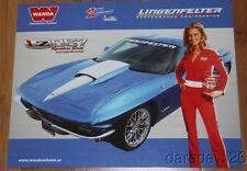 "2013 Lingenfelter ""1st issued"" Chevy Corvette LZ067 Grid Girl SEMA info card"