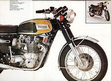 Triumph - Trident - T 150 V - Prospekt - 1972 - Deutsch - nl-Versandhandel