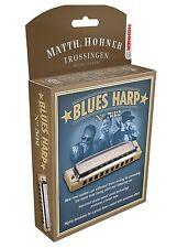 "NEW HOHNER 532/20 BLUES HARP HARMONICA ""G"" HARP & CASE NEW IN PACK SALE"