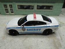 GREENLIGHT POLICE NEW YORK CITY SHERIFF DODGE CHARGER CUSTOM UNIT