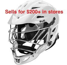 New listing WARRIOR EVO White L/XL Lacrosse Helmet NEW!