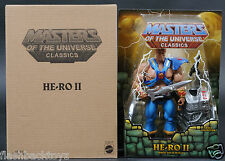 2015 MOTU He-Ro II 2 Dare Son of He-Man MOTUC Masters of the Universe Classics
