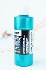 Createx Airbrush Colors 5504 Iridescent Turquoise 4oz. water-based paint