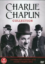 THE CHARLIE CHAPLIN COLLECTION - 4 DVD BOX SET - 27 CLASSIC FILMS