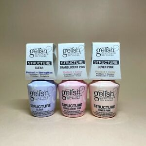 Harmony Gelish Brush On Structure Gel 0.5 fl. oz. (Clear/Cover/Translucent)