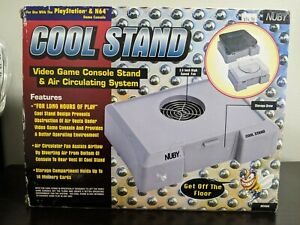 Playstation and Nintendo 64 Nuby Cool Stand New Console stand -READ DESCRIPTION-
