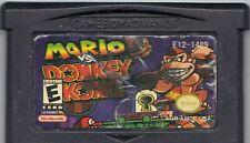Gameboy Advance  Mario vs Donkey Kong AGB - AMDE - USA (See Pic)