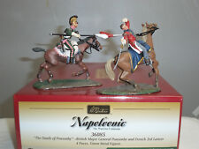 Britains 36085 Death of British Major Ponsonby French 3rd Lancer Mounted Set