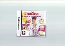 IMAGINE INTERIOR DESIGNER - GIRLS DS GAME / LITE DSi 3DS COMPATIBLE COMPLETE VGC