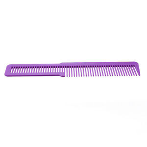 A1ST Hairdressing Carbon Anti-static Comb Wide Tooth Hair Clipper Comb (Purple)