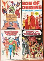 MARVEL COMICS  Fireside SC Books By Stan Lee 1975 Great Gifts Get 1 or All 4