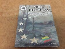Lithuania  2004 Euro  Pattern COIN SET - FREE UK P&P