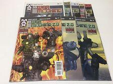 WAR MACHINE 2.0 #1-10(MAX COMICS/2003/AUSTEN/MOORE/05173) NEAR COMPLETE SET OF 8