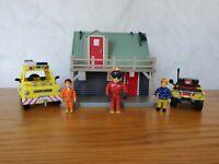 Fireman Sam Mountain Rescue Lodge Plus 4x4 Jeep Quad Bike & Figures #1 🔥