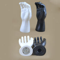 Jewelry Bracelet Watch Ring Display Male Mannequin Right Hand Holder Model Stand