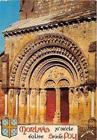 BR8490 Morlaas le portail de l'Eglise Ste Foy   france