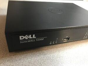SonicWall TZ300 +Transfer Ready! | Warranty | Genuine | FAST Ship