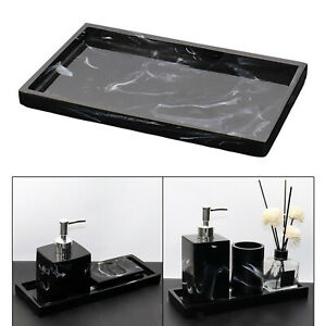 1x Resin Bathtub Tray Countertop for Tissues Candles Soap Shampoo Plant