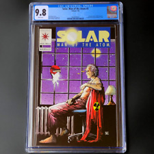 SOLAR MAN OF THE ATOM #5 🔥 CGC 9.8 WP 🔥 Valiant Comics : 1st ORB Industries!!