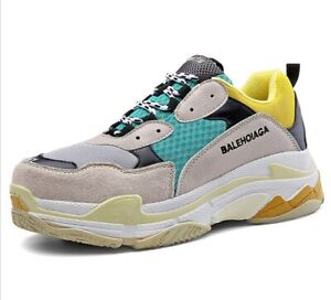Hot Fashion Women's Athletic Trainers Running Triples  Sports Shoes Sneakers