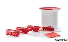 TUPPERWARE Gnocchi Party M-Press See Movie Brand New with 4 molds NEW COLOR