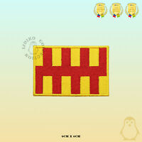 NORTHUMBERLAND County Flag Embroidered Iron On Sew On Patch Badge For Clothes