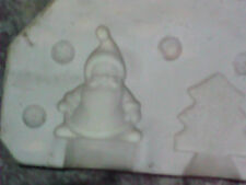"4"" SANTA AND 3"" TREE, BYRON 1062, Slip Casting Ceramic Mold"