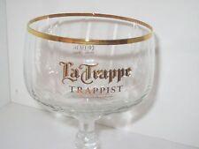1x Verre 25 - 33 cl ※ La TRAPPE TRAPPIST ※ COLLECTION Verre à pied liseret doré