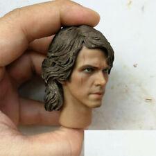 """1/6 Revenge of the Sith Anakin Skywalker Head Sculpt F 12"""" Male Figure Body"""