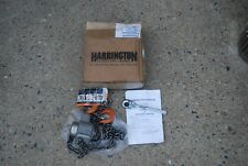 Harrington Pal003-5 Lever Hoist 1/4 Ton 5' Lift 3/8 Proto Ratchet Drive New