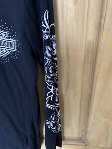 harley davidson Womens long sleeve t shirt