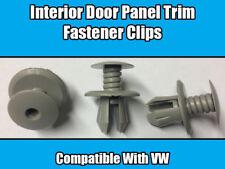 20x CLIPS For VW TRANSPORTER T4 T5 INTERIOR TRIM DOOR SCREW PANEL FIXING GREY