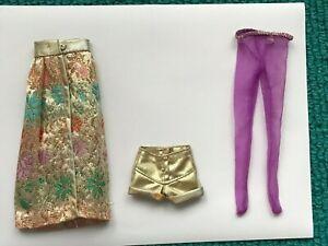 Vintage Barbie MOD #3362 FANCY THAT PURPLE Items  (1972)  **TLC**