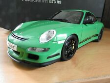 AutoArt 1:12 Porsche 911 997 GT3 RS Green/Black