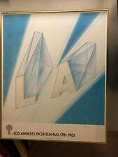L.A. Bicentennial.  William Crutchfield.  #155 of only 425    1980
