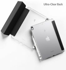 iPad Air 3 (2019) Tablet Smart Case & Soft TPU Back Cover Auto Wake Sleep Black