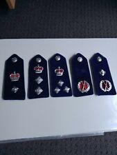 Victoria Police velvet epaulettes