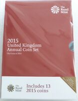 2015 Royal Mint Annual Brilliant Uncirculated 13 Coin Set Still Mint Sealed