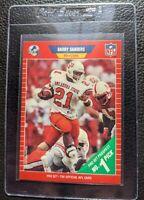1989 PRO SET #494 BARRY SANDERS ROOKIE CARD RC DETROIT LIONS HOF