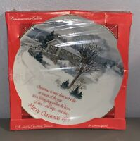 *BRAND NEW* Vintage 1979 Christmas Plate by American Greetings Corp. Porcelain
