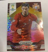 2014 Prizm FIFA World Cup CRISTIANO RONALDO Yellow Red PULSAR PRIZM RARE